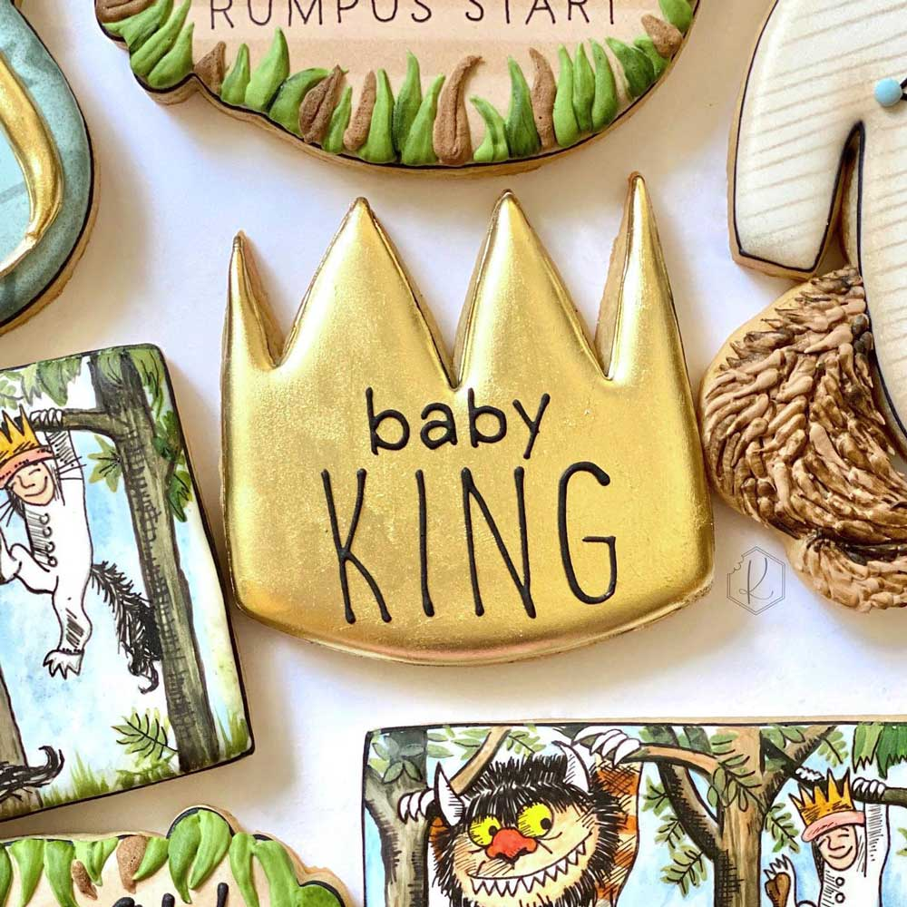 Where The Wild Things Are Cookie