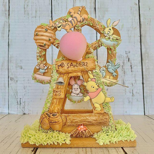 Winnie The Pooh Ferris Wheel cookies