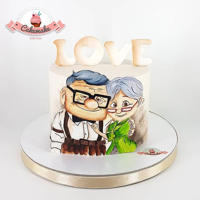 Carl and Ellie Up Cake