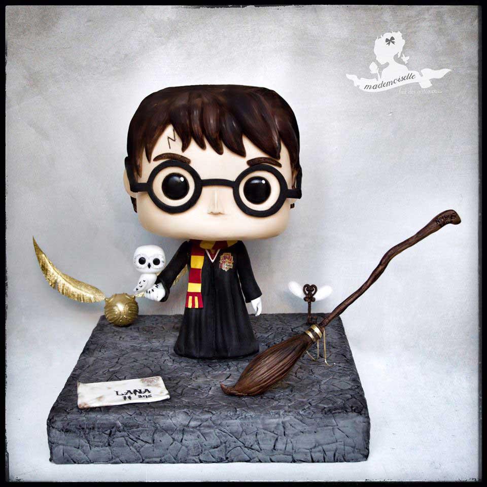 Chibi Harry Potter Cake