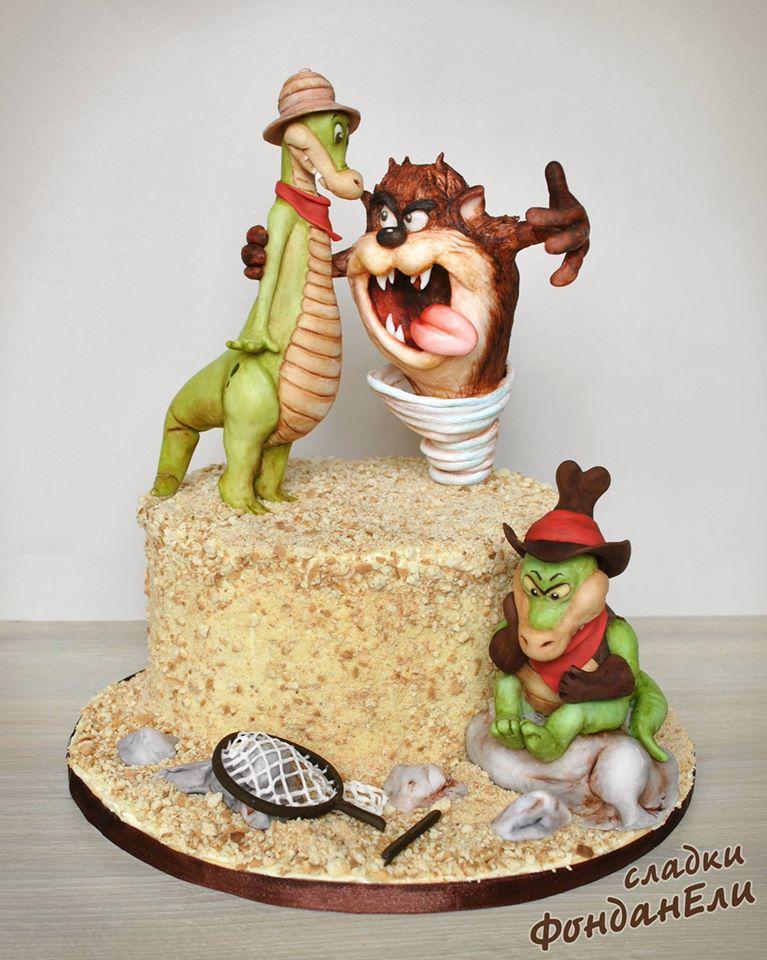 Taz Mania cake