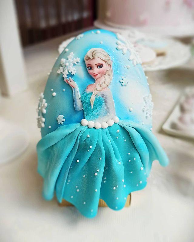 Elsa Chocolate Easter Egg