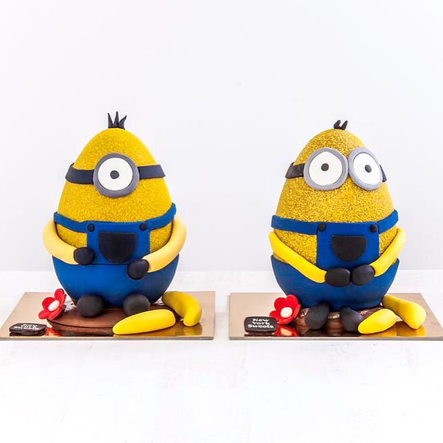 Minion Chocolate Easter Egg