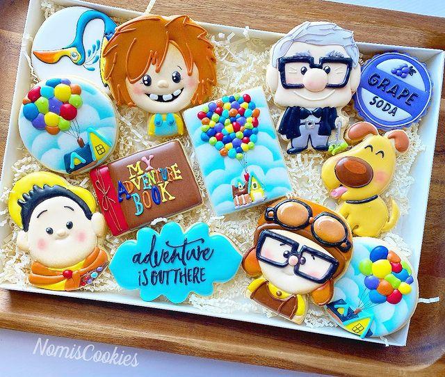 Disney Up Cookies