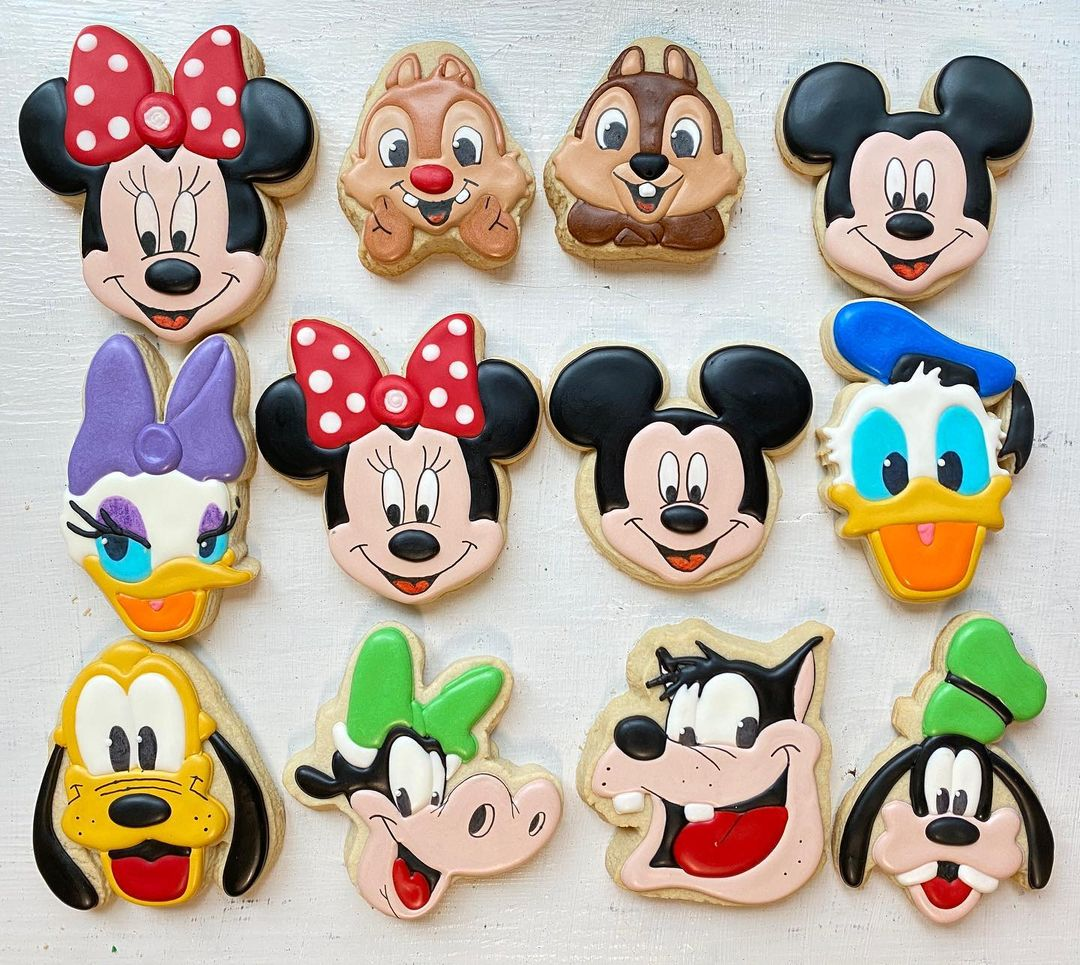 Mickey Mouse and Friends Cookies