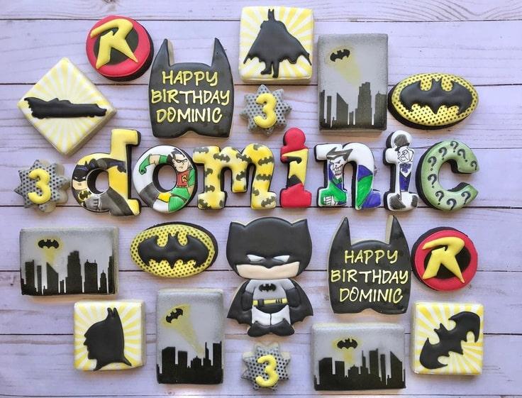 Batman 3rd Birthday Cookies