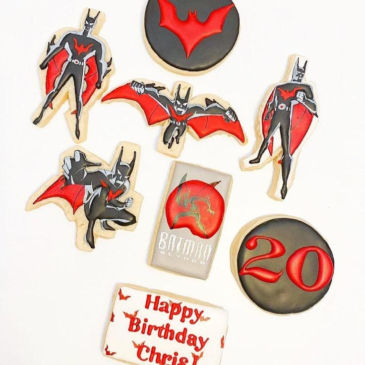Batman Beyond Cookies