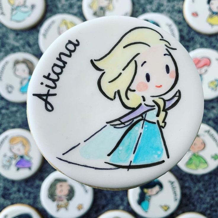 Elsa Cookie