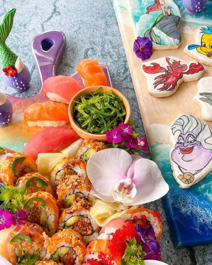 Little Mermaid Sushi