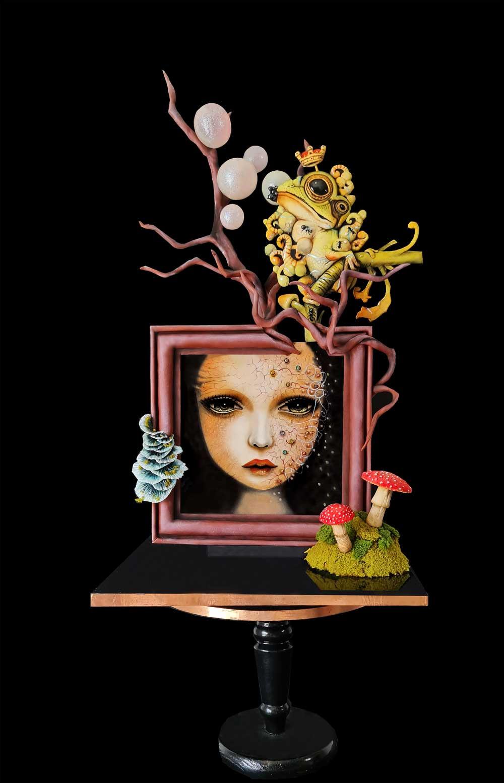 Sophia Fox Sugar Artist Cake