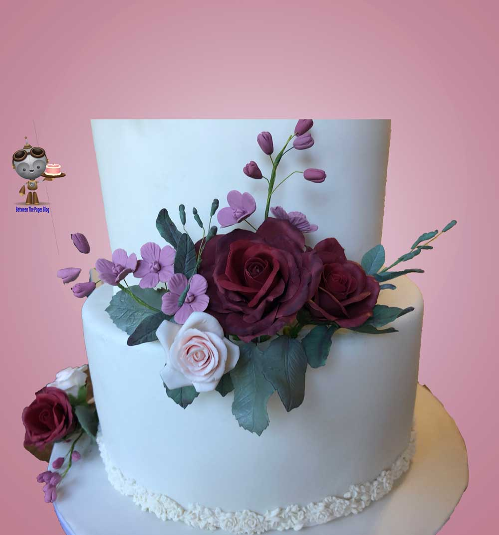 Burgundy Sugar Roses