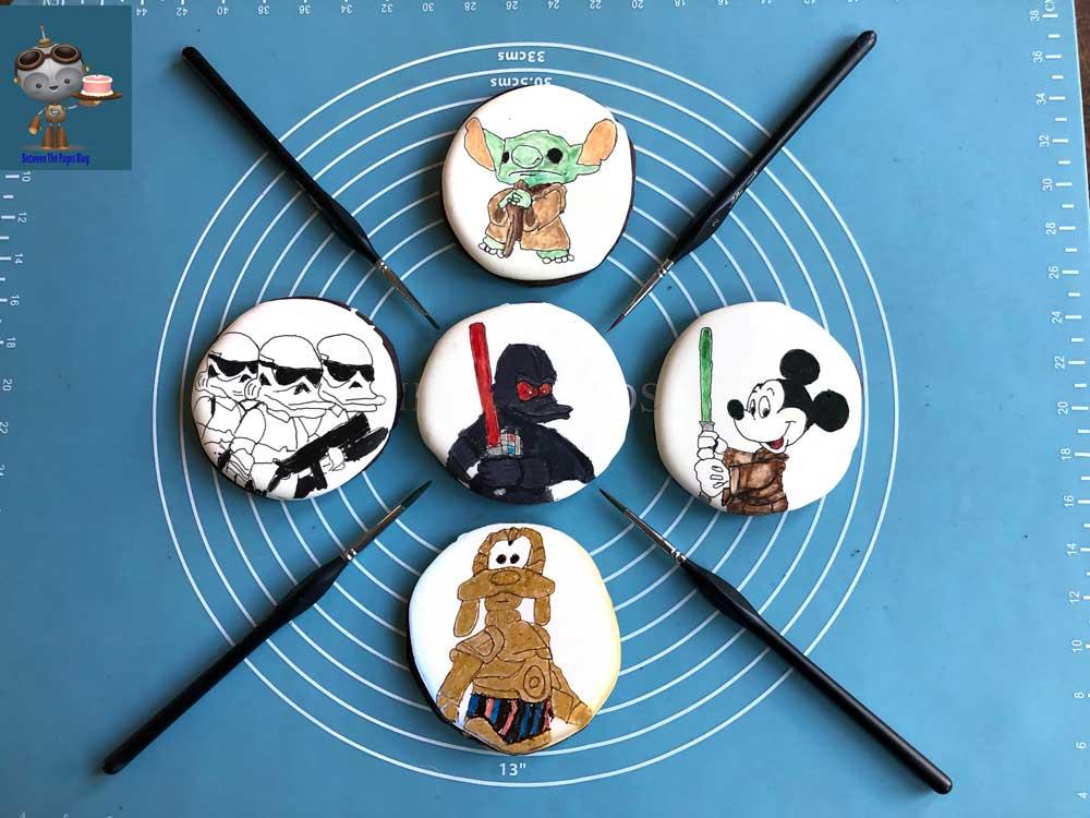 Star Wars Disney Mashup Cookies