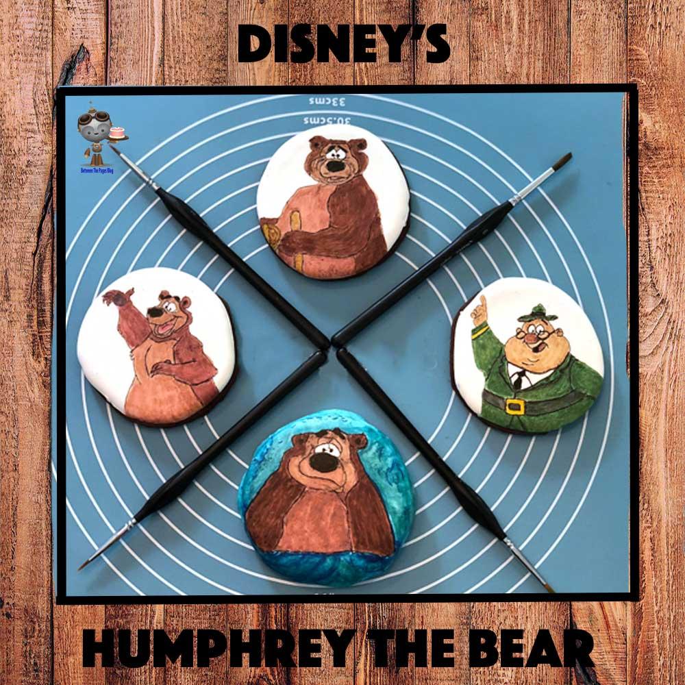 Humphrey the Bear Cookies