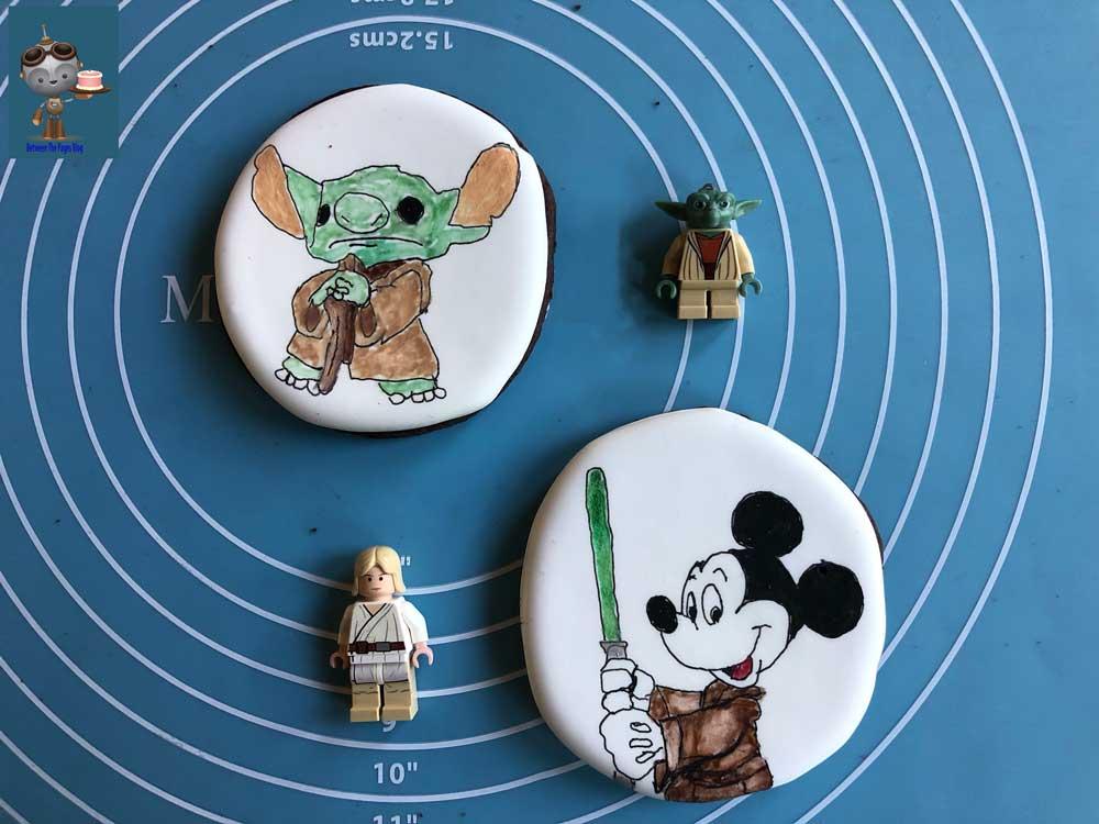 Stitch Yoda Cookie