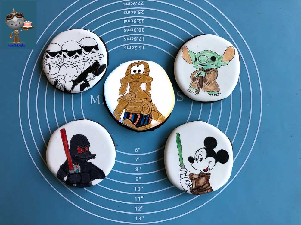 Disney Star Wars Mashup Cookies