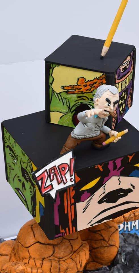 Jack Kirby Cake Topper