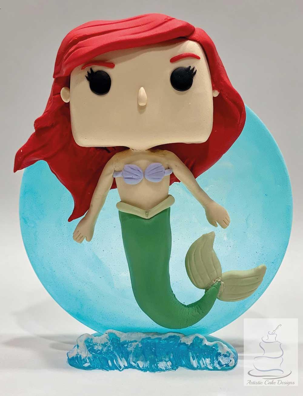 Little Mermaid Funko Pop Cake