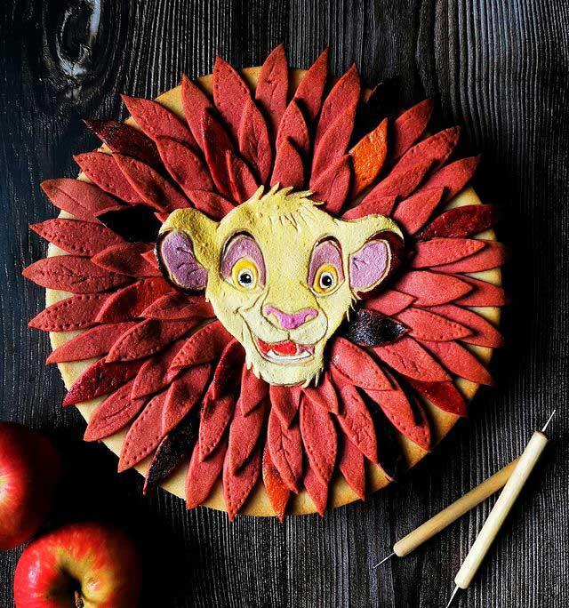 Lion King Pie