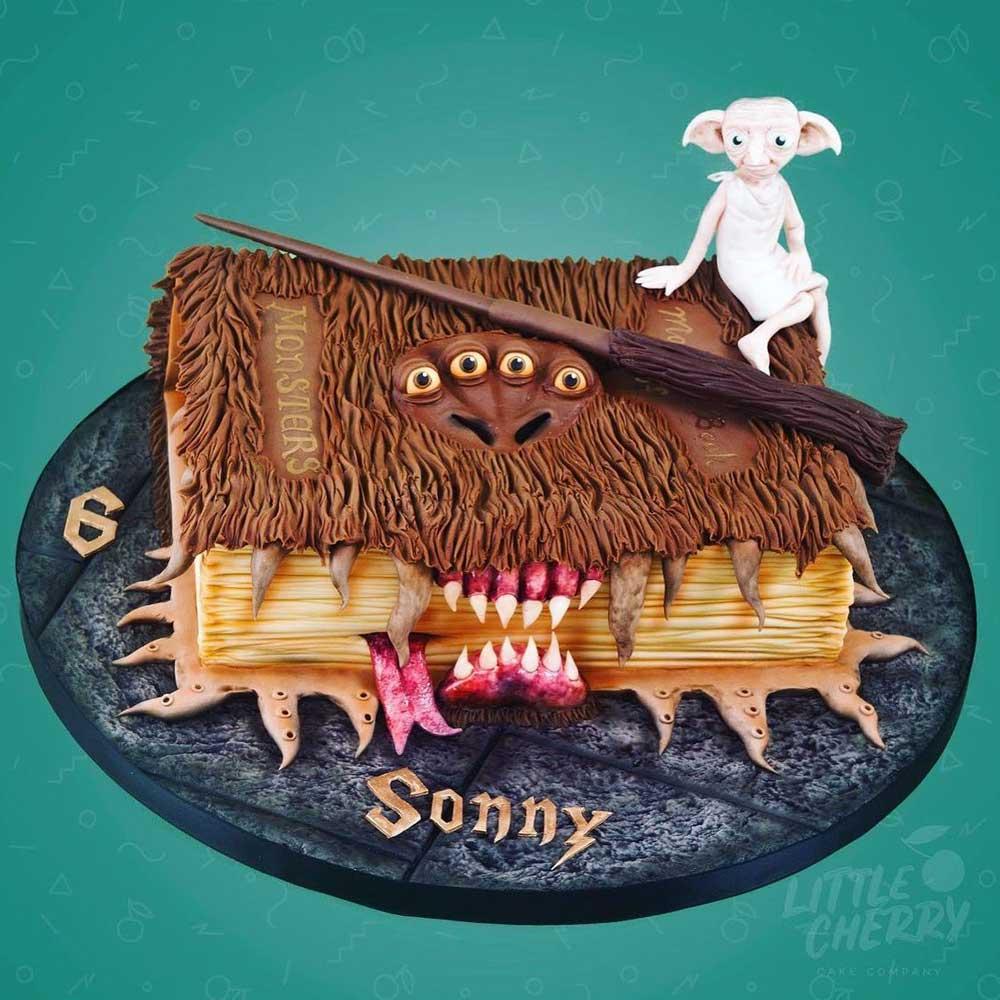 Monster Book of Monsters Cake
