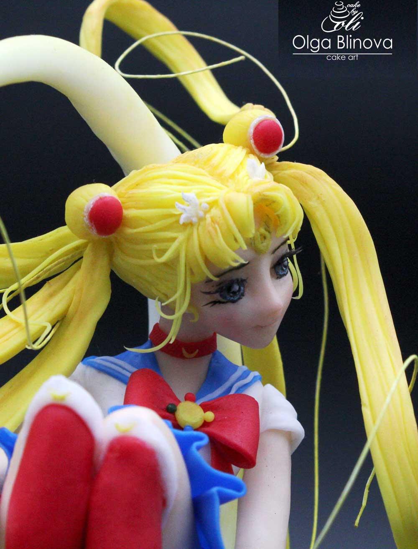 Sailor Moon Cake Topper