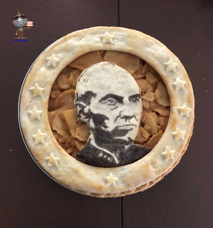 Picard Star Trek Pie